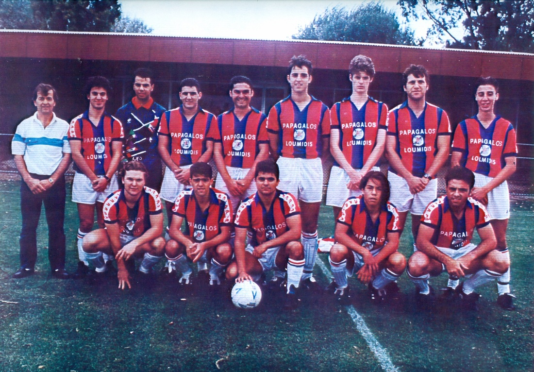 High Year Tenure Navy >> History | Port Melbourne Soccer Club