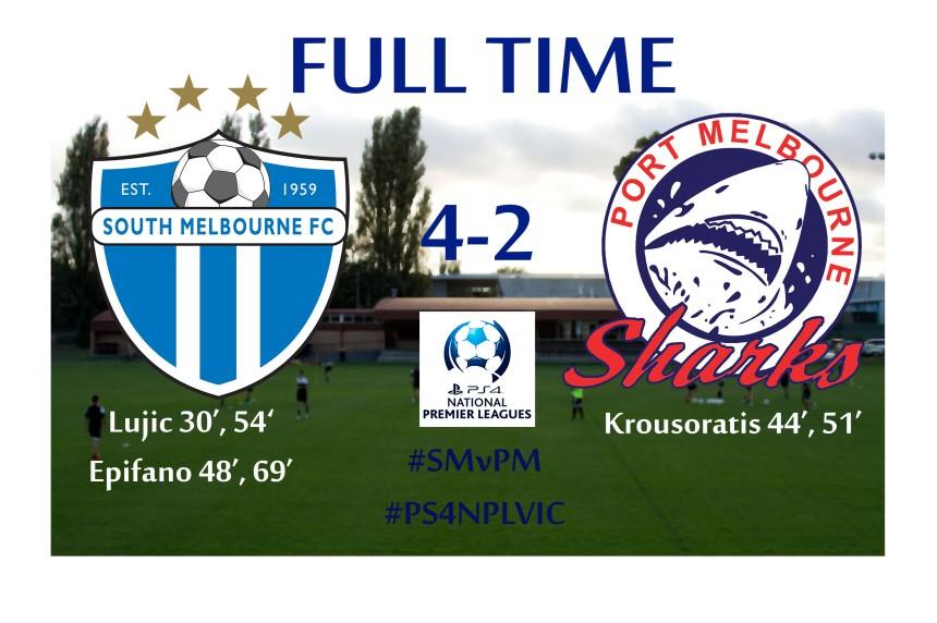 South Melbourne v Port Melbourne full time