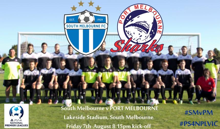 South Melbourne v Port Melbourne Matchday photo