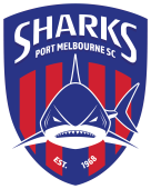 Port Melbourne SC Logo_With Border
