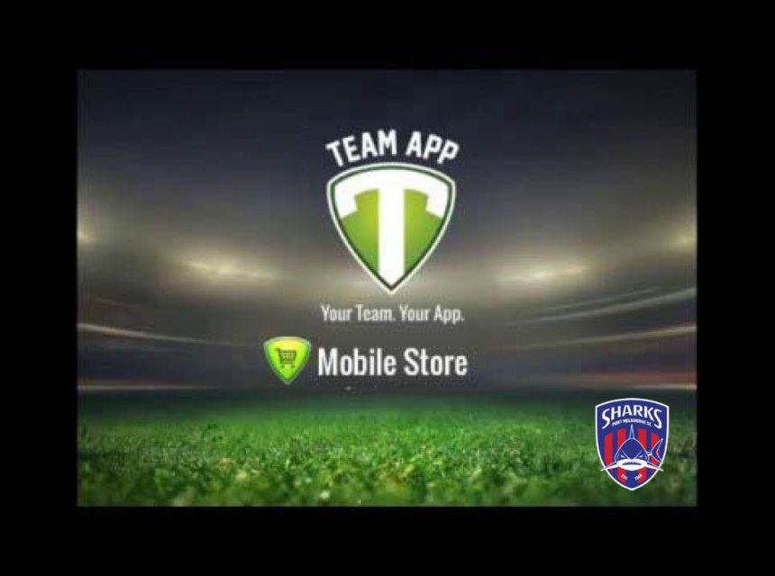 Team App mobile store - branded