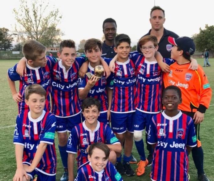 ANZAC Day winning team