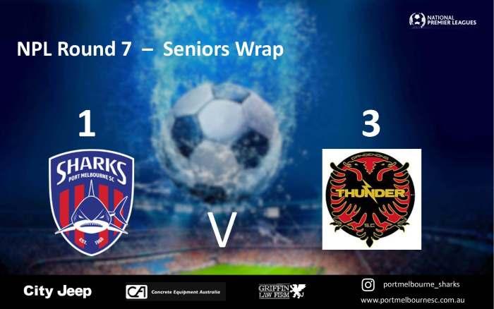 NPL Round 7_Dandenong Thunder - Seniors Wrap_180413