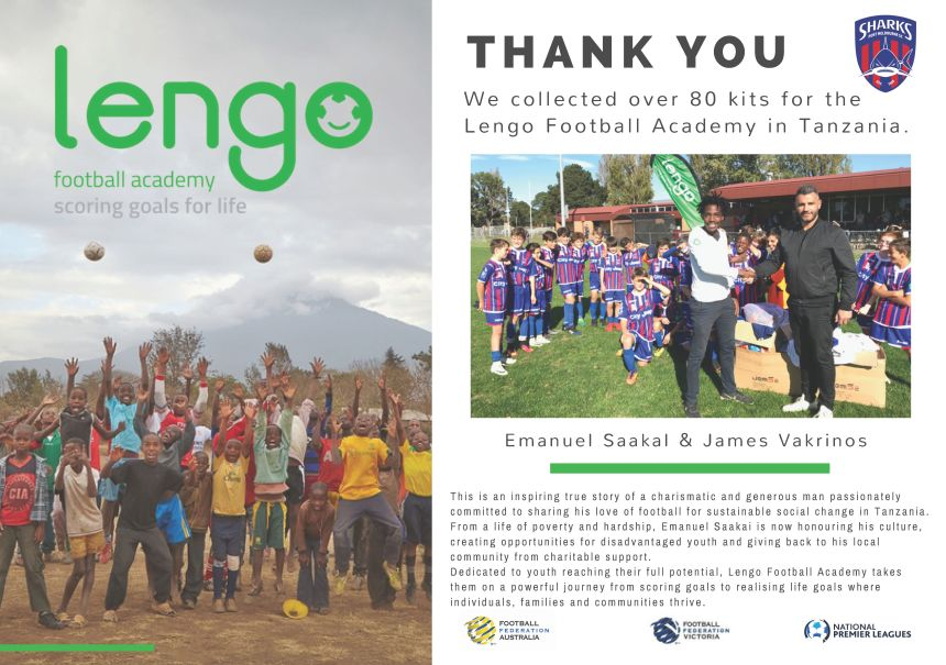 Lengo Football Academy_Kit Thank You Poster_May