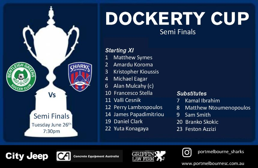 Dockerty Cup - Starting Line-up - Square