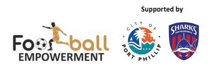 Footballl Empowerment Banner