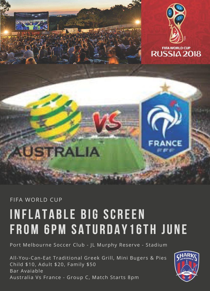 World Cup_France Vs Australia_Poster