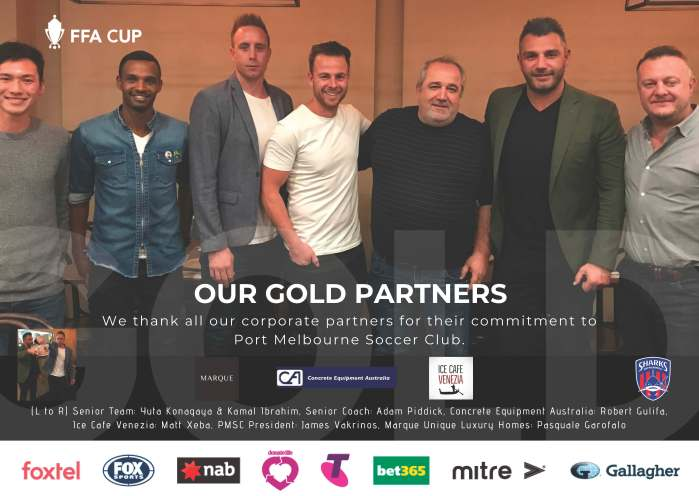 FFA Cup_Our Gold Partners