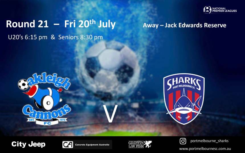 Round 21_Oakleigh Cannons FC_180720