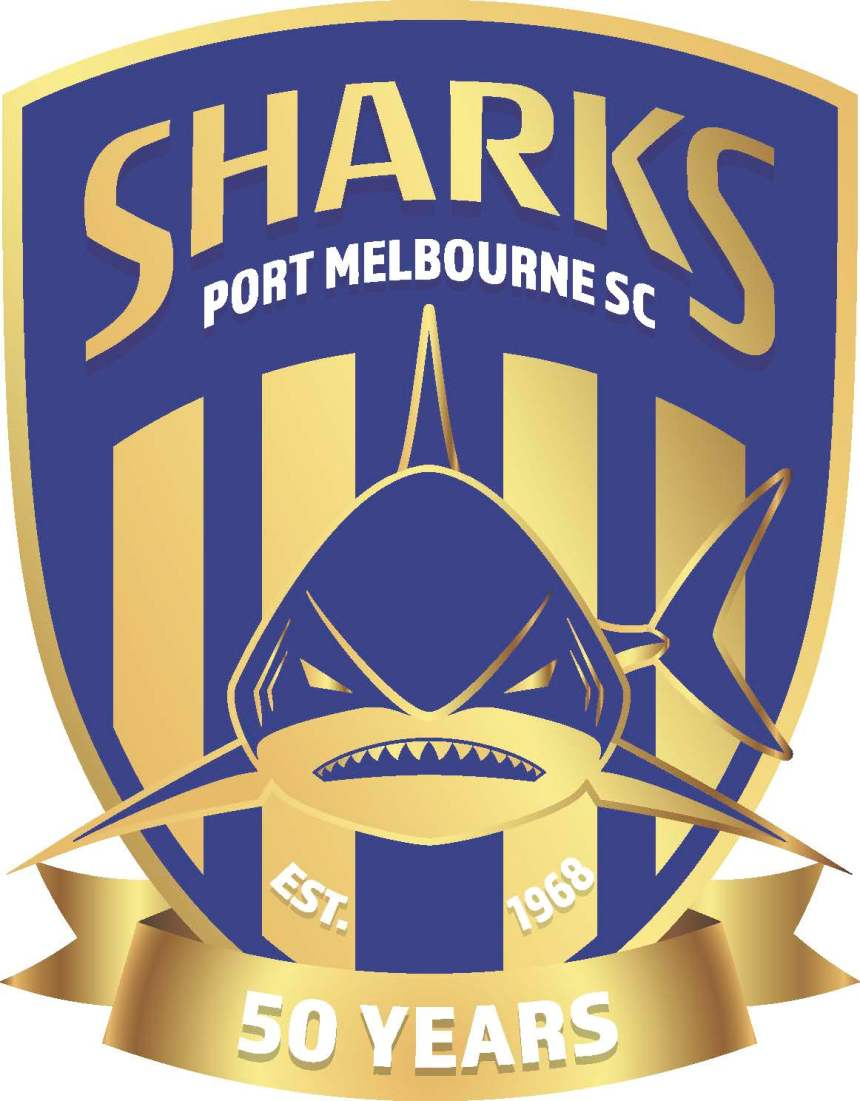 Port Melbourne SC Logo_Golden