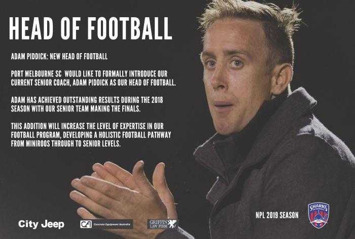 Adam Piddick Head of Football Poster_180907