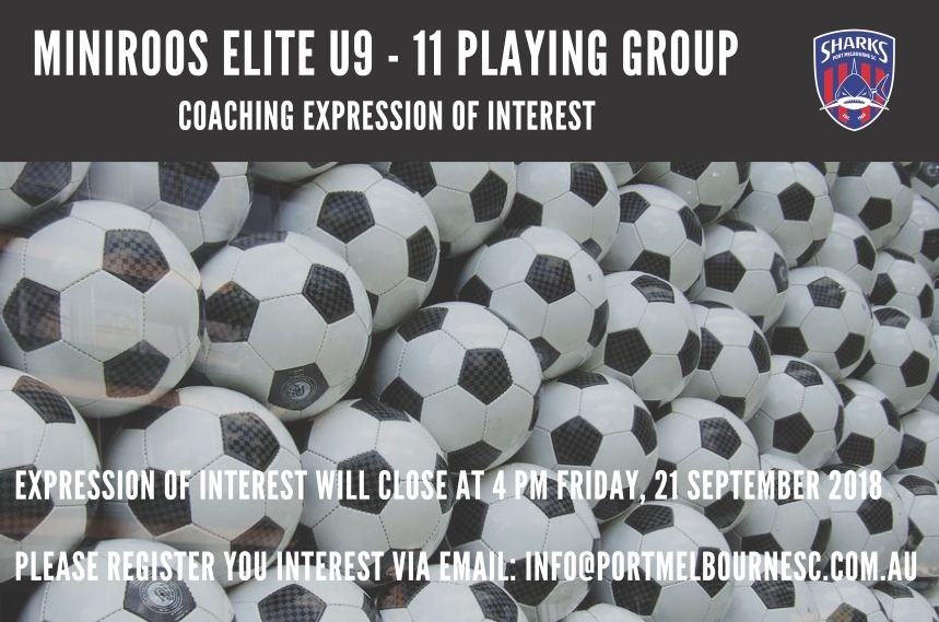MiniRoos Coaching Expression of Interest_Poster 180910