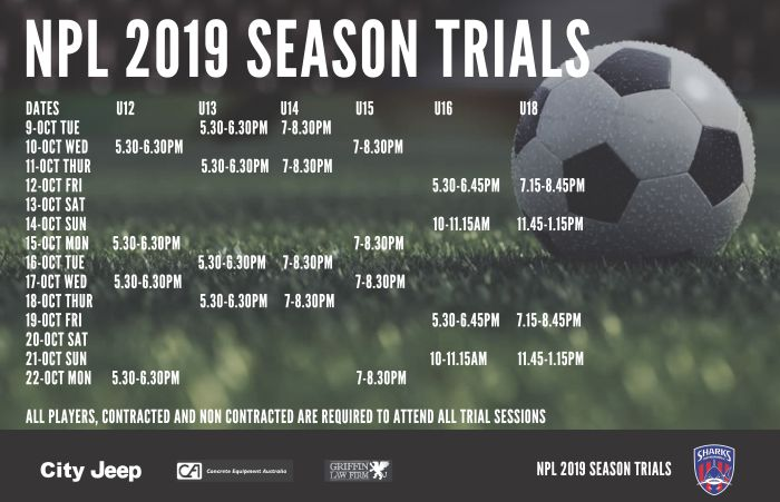2019 NPL Trial Dates_181004