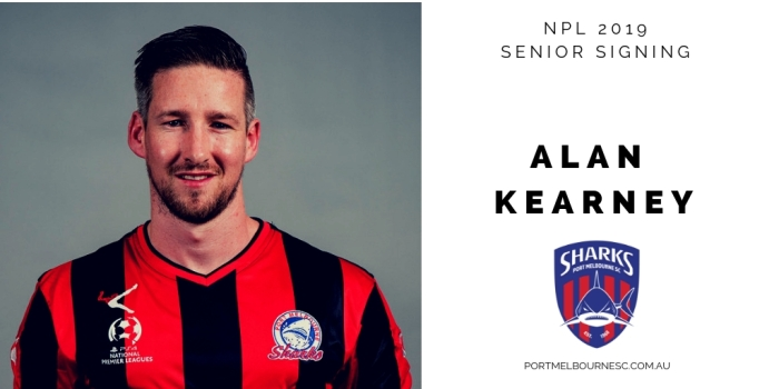 Alan Kearney Signing