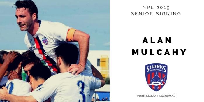 Alan Mulcahy 2019 Signing