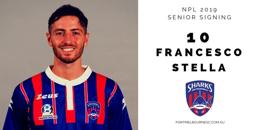 Francesco Stella 2019 Signing