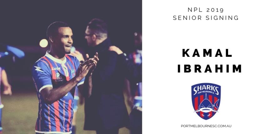 Kamal Ibrahim Signing