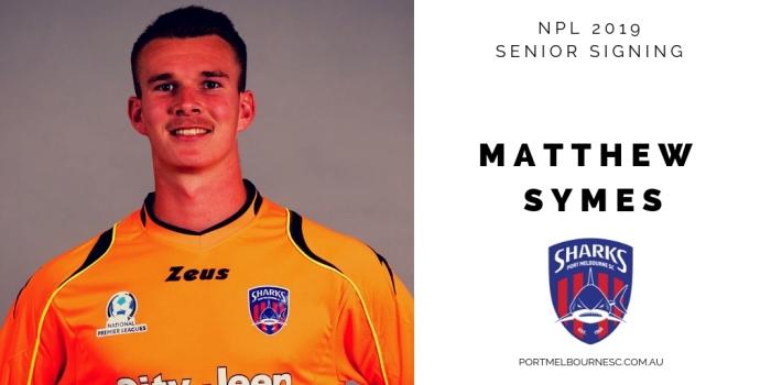 Matthew Symes 2019 Signing