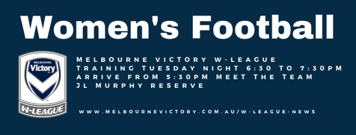 Melbourne Victory W-League Training