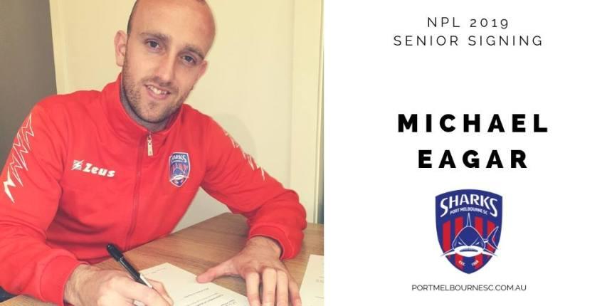 Michael Eagar 2019 Signing