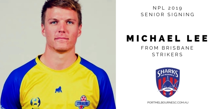 Michael Lee 2019 Signing