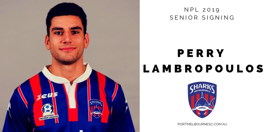 Perry Lambropoulos 2019 Signing