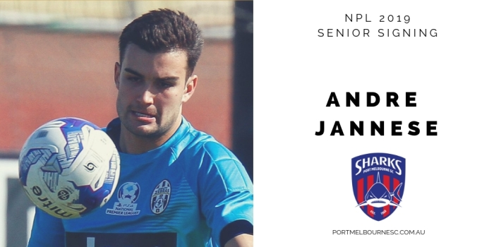 Andre Jannese 2019 Signing_photo updated