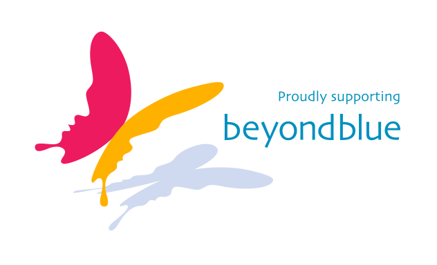 proudly supporting BEYONDBLUE