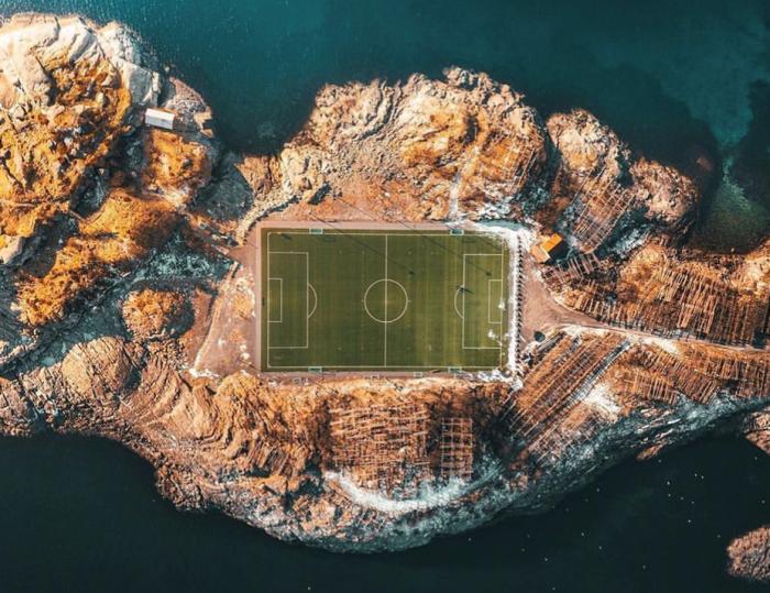 lofoten islands photo crop