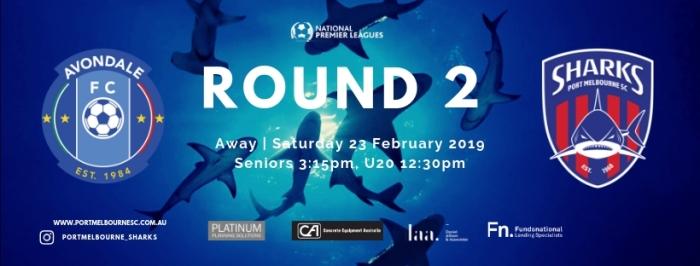 Round 2_Avondale FC_Team App Banner190223