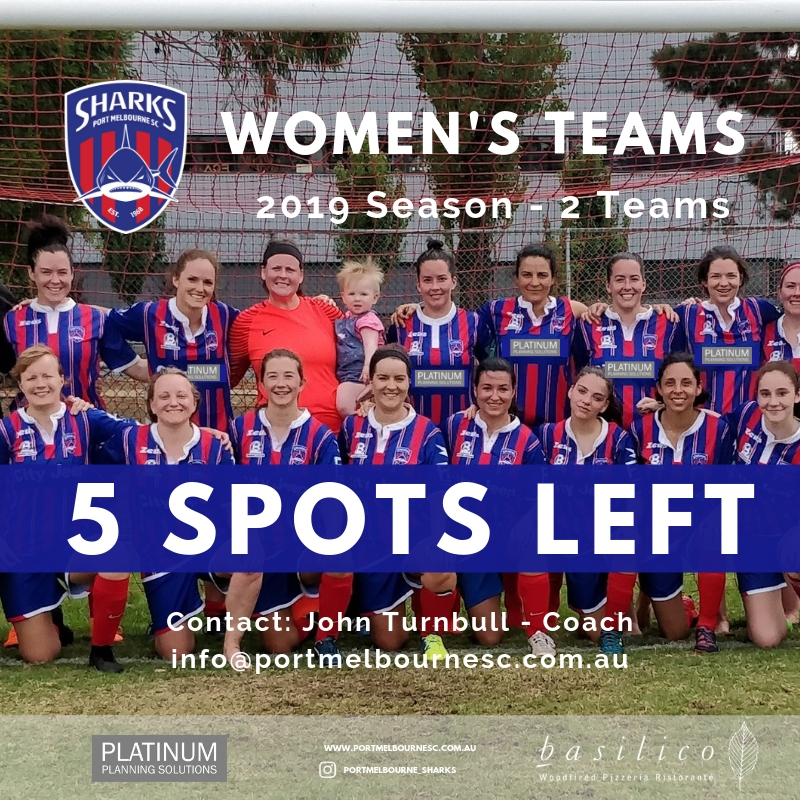 Womens Team_5 Spots Left_190228