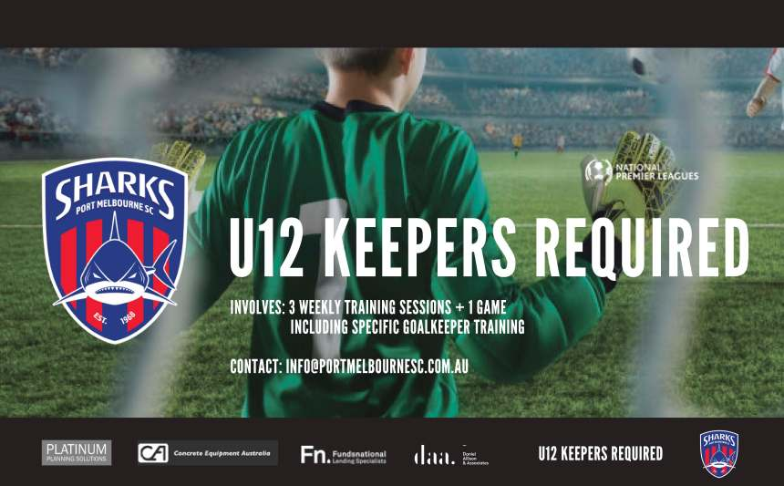U12 Keepers Required_190312