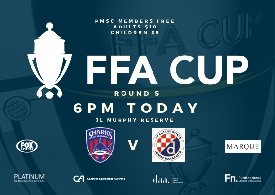 FFA Cup_Round 5_St Albans Saints SC_Game Day Poster_190420