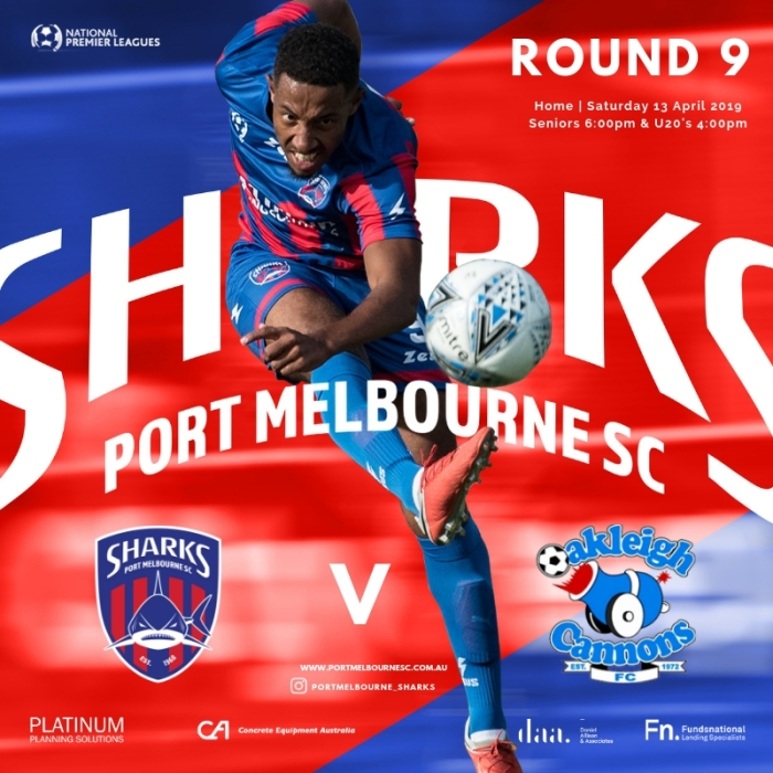 Round 9_Oakleigh Cannons_Sat 13 April 2019