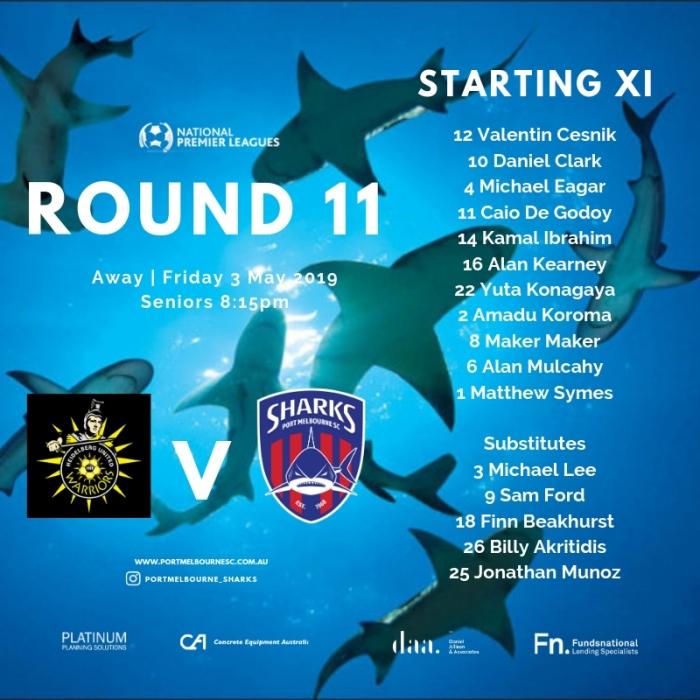 Round 11_Starting XI_Social Media