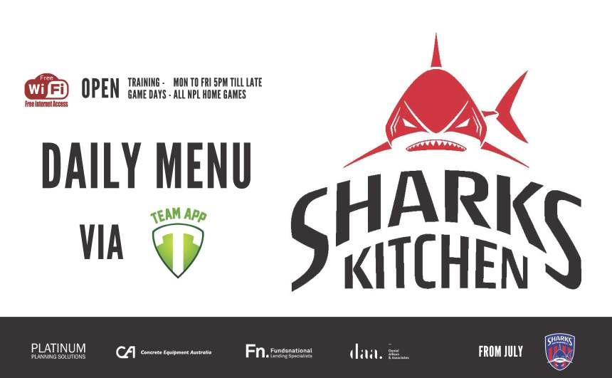Sharks Kitchen Daily Menu Poster_190629