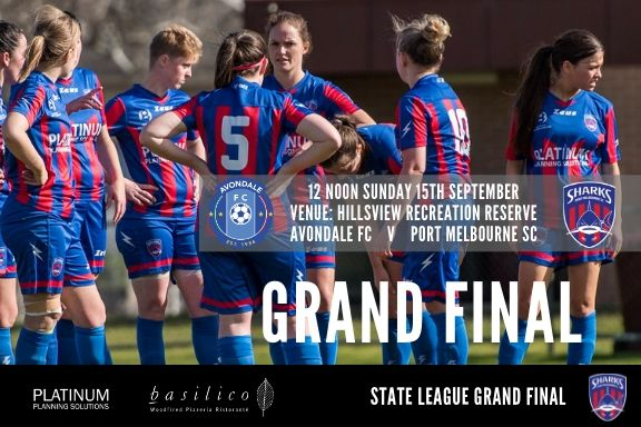 2019 State League Grand Final_Poster