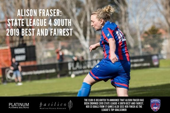 2019 State League 4 Best and Fairest_Alison Fraser_191024