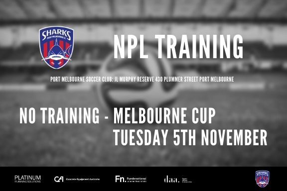 No Training Melb Cup_191105
