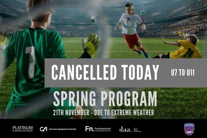 Spring Program Cancelled_191121