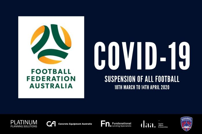 FFA Suspension of all football_200317