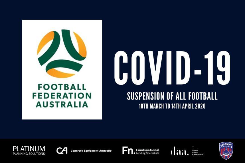 FFA Suspension of all football_200317