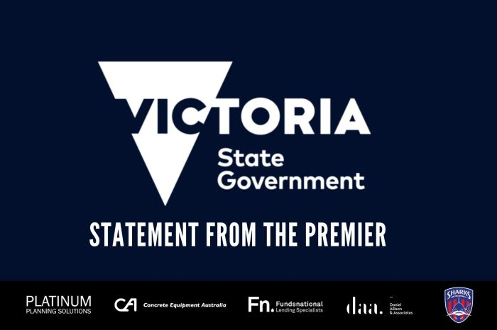 Statement from the Premier_post
