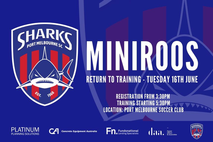MiniRoos Return To Training_200616